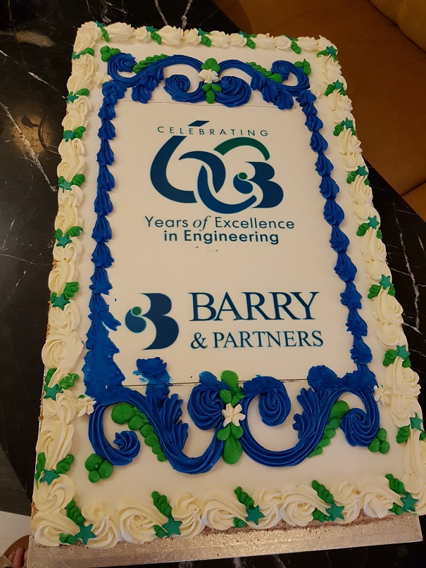 ACEI Members firm J.B.Barry & Partners Ltd celebrates 60 years in business