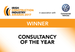 ACEI Member Ethos Engineering wins Consultancy of the Year at Irish Construction Industry Awards 2017