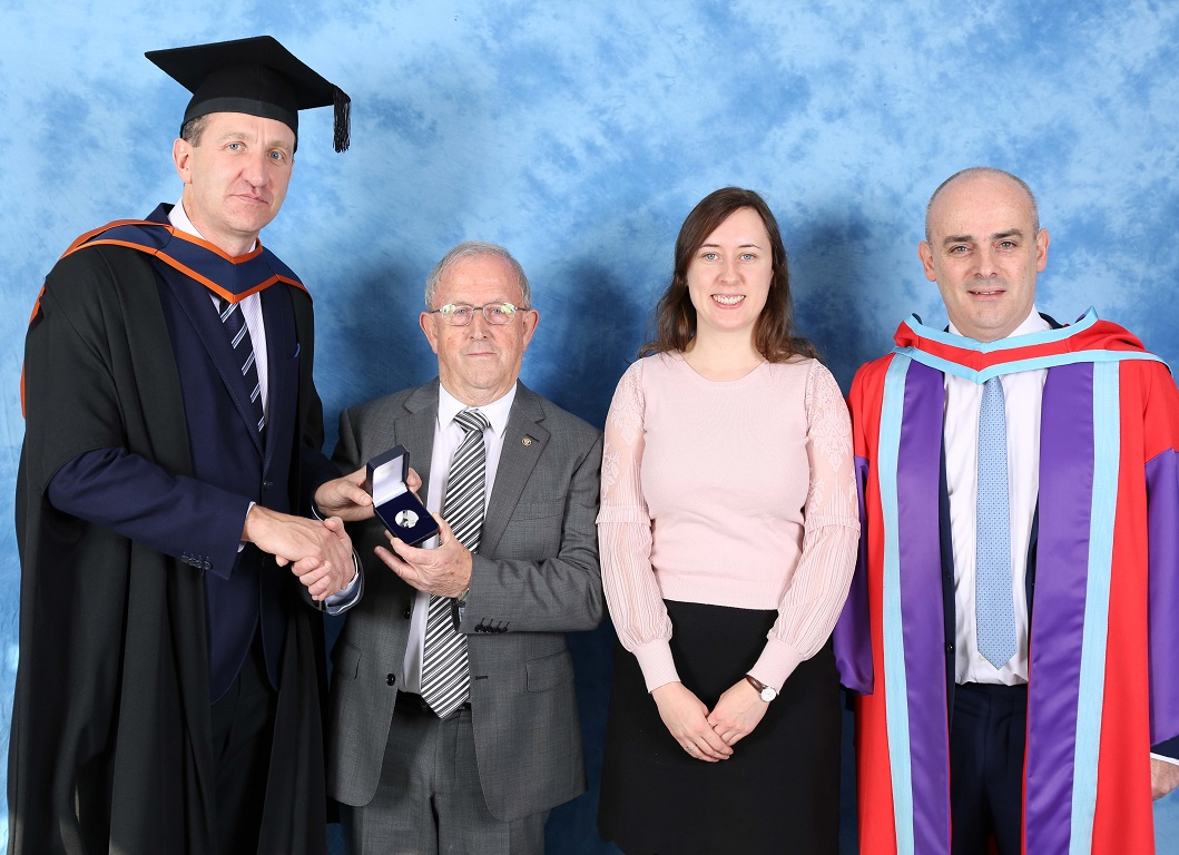 First Graduates from IT Sligo's New Masters in Road and Transport Engineering